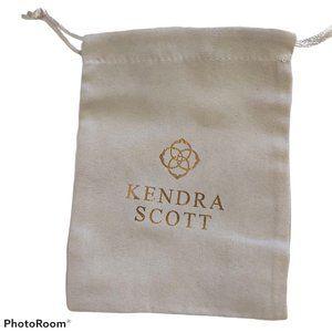 "25 pcs Kendra Scott dustbag Jewelry pouch 5.5"" x 4"